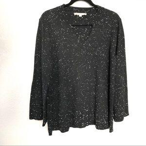 LOFT Sweaters - LOFT Triangle Cut Knit Sweater